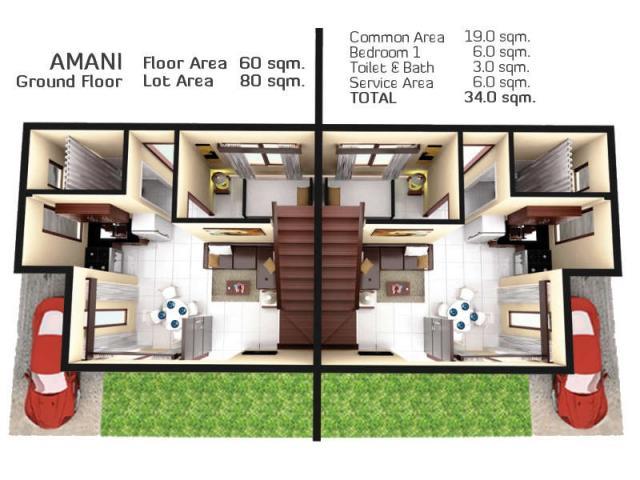 Almiya AsianModern Houses Glory Land Cebu Your Best Partner - House design 80 sqm
